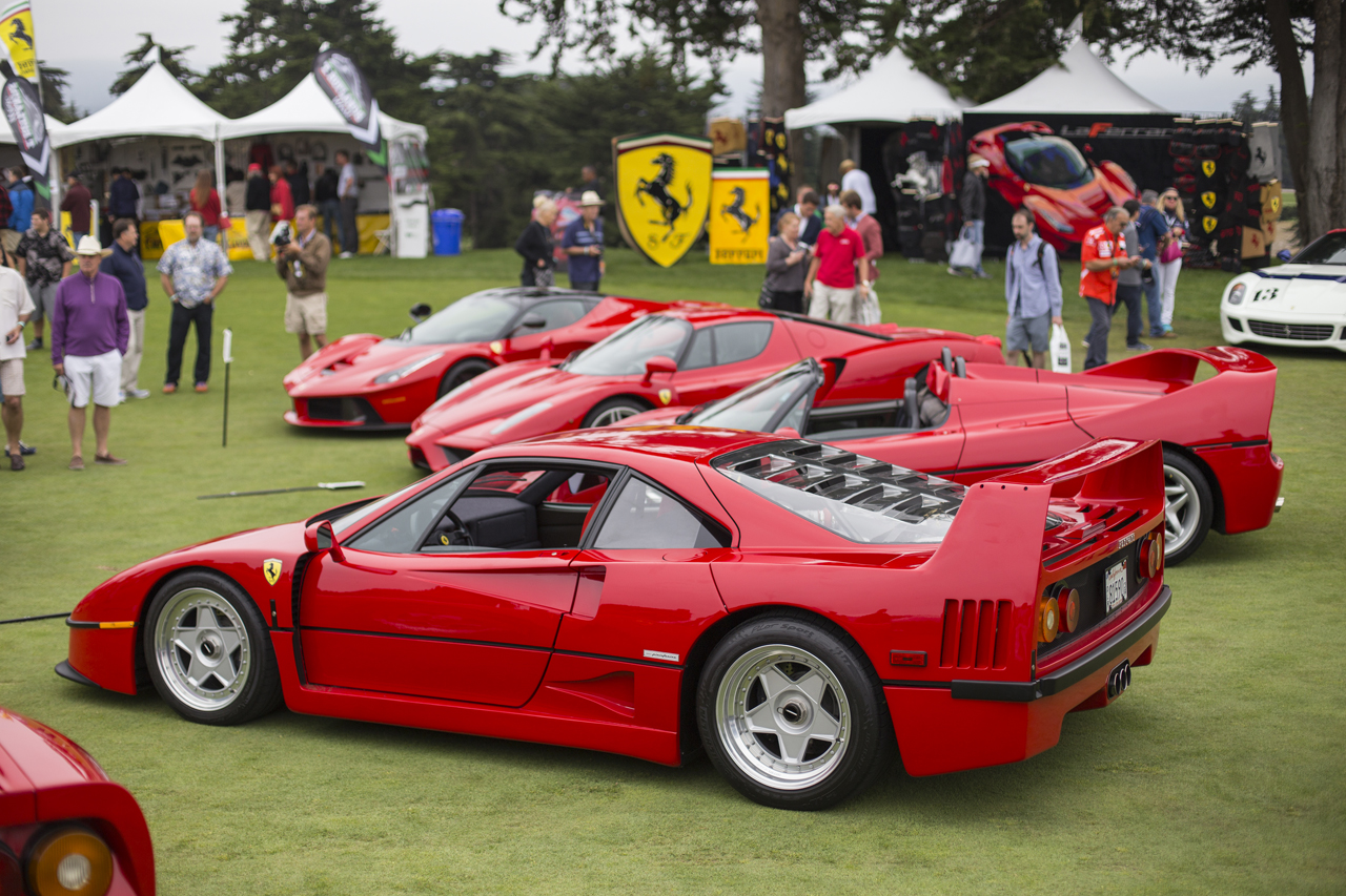 World Famous Ferrari Collector, David Lee, Showed Up In A Big Way With His  Whole Line Up Of Ferrari Super Cars, Which Astonishingly Only Accounts For  A Very ...