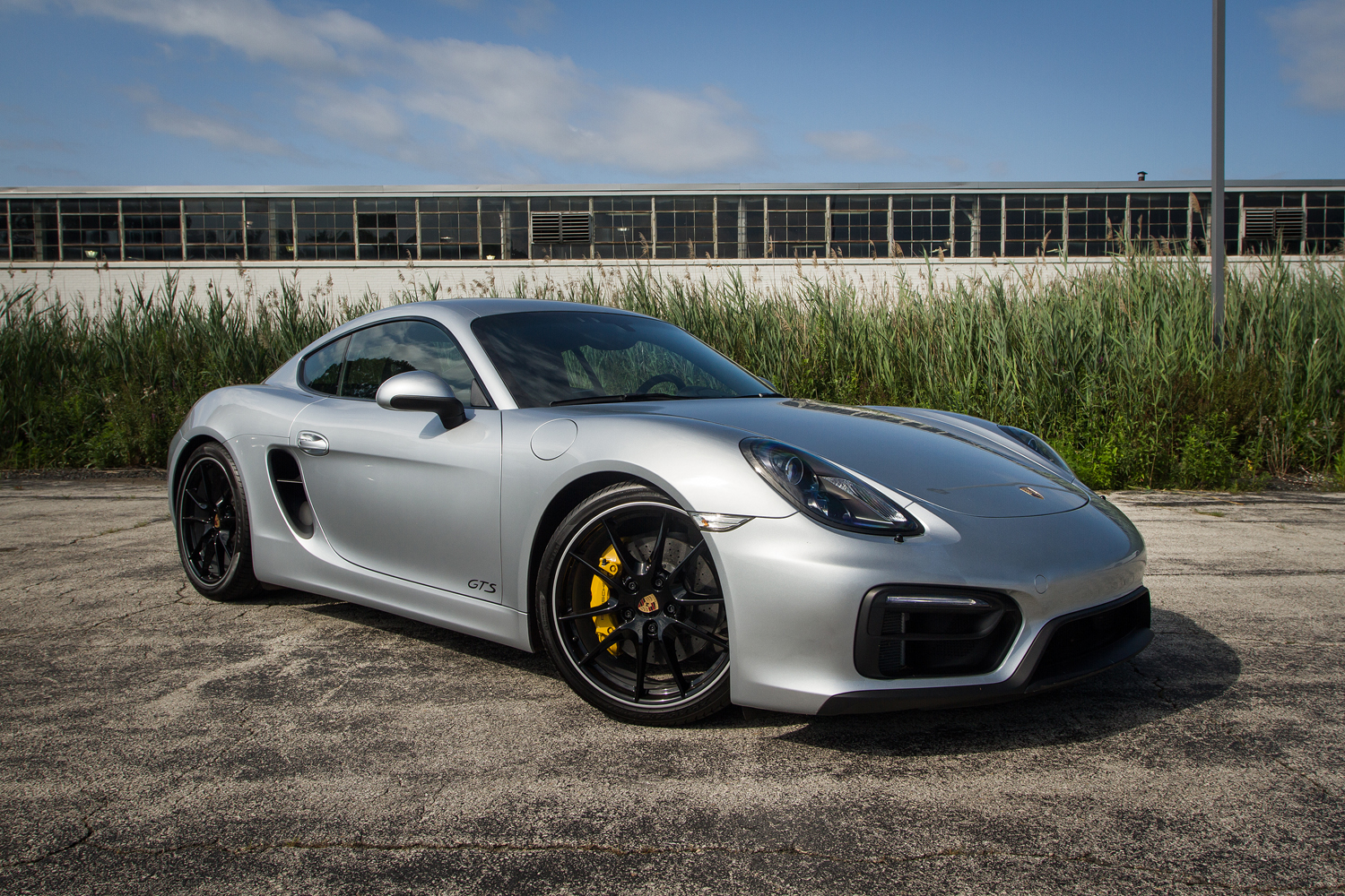 Fully Loaded 2015 Cayman Gts Silver Black Pdk Ptv Ceramic Brakes 6speedonline Porsche