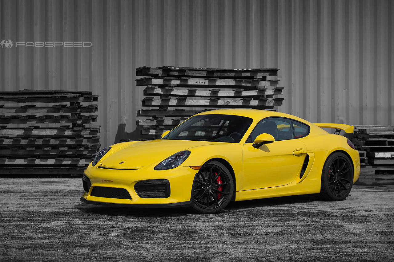 new release porsche cayman gt4 sport race headers fabspeed motorsport. Black Bedroom Furniture Sets. Home Design Ideas