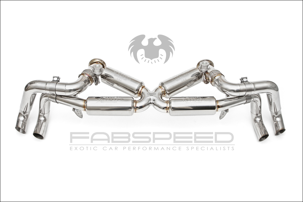 fabspeed huracan supersport xpipe valved exhaust system. Black Bedroom Furniture Sets. Home Design Ideas
