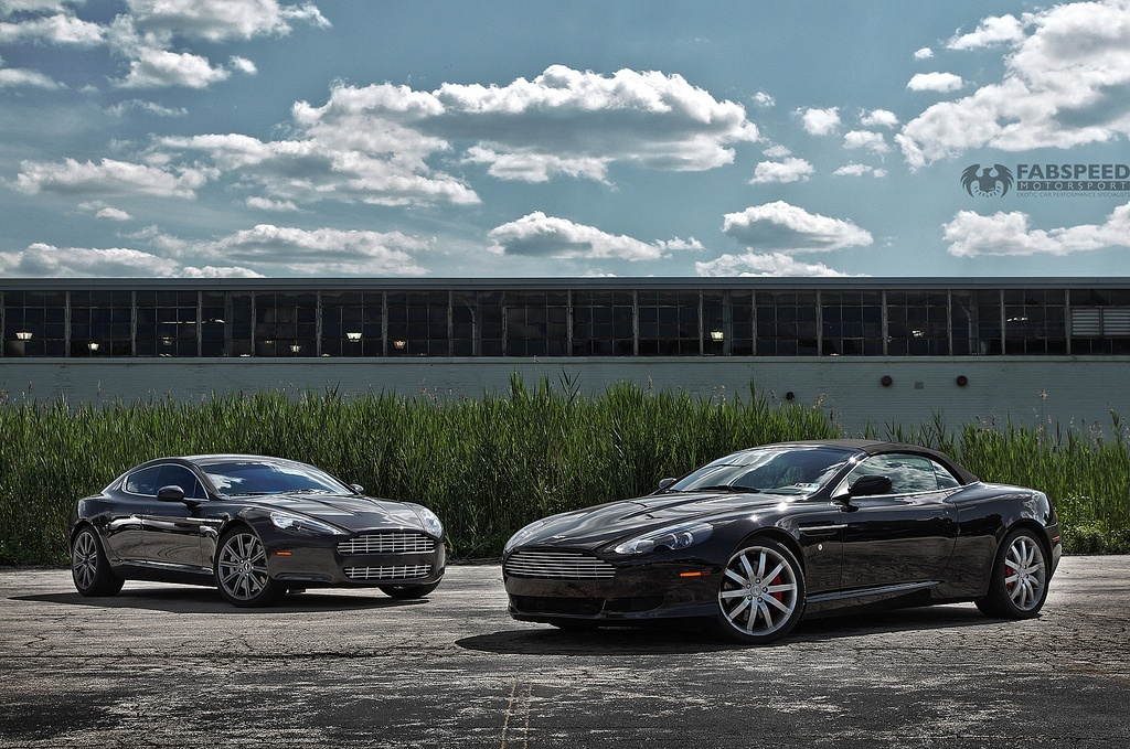 Aston Martin DB09 and Rapide