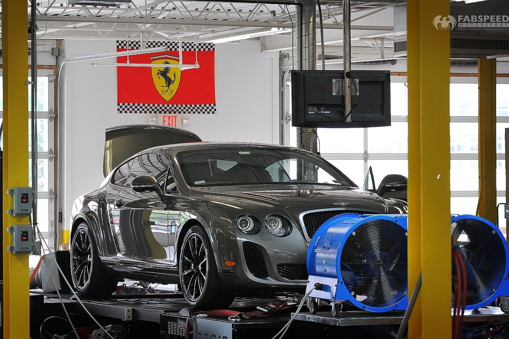 Bentley Continental GT on the Dyno