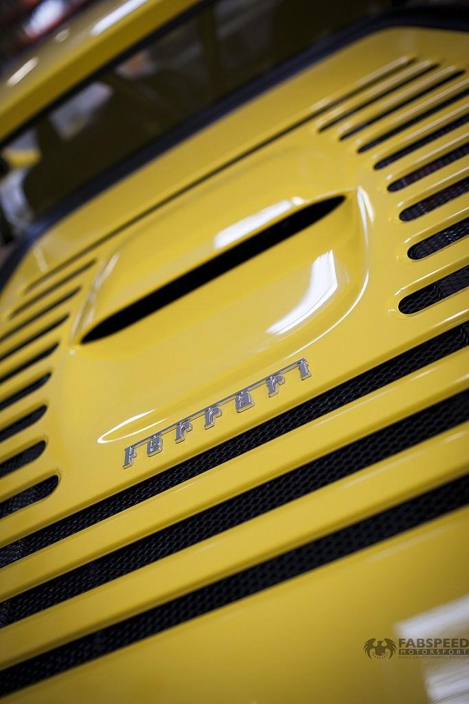 Ferrari F355 Hood