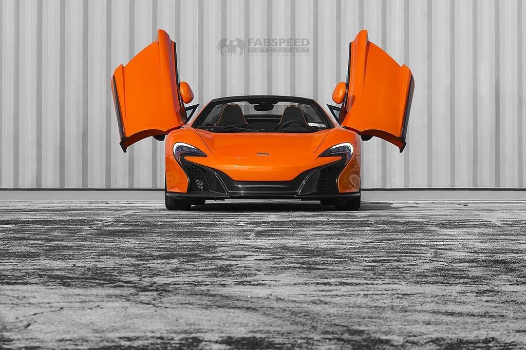 McLaren 650S Doors