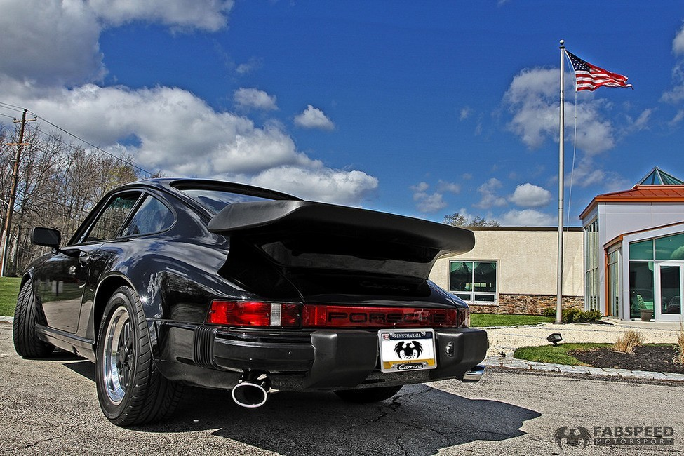 Porsche 911 Turbo Rear Angle
