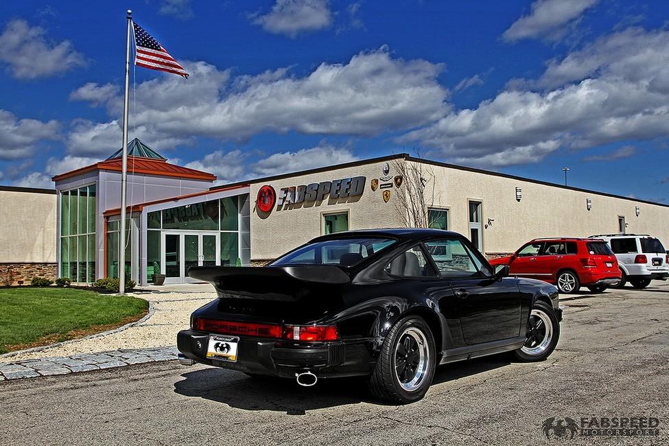 Porsche 911 Turbo Rear Angle 2