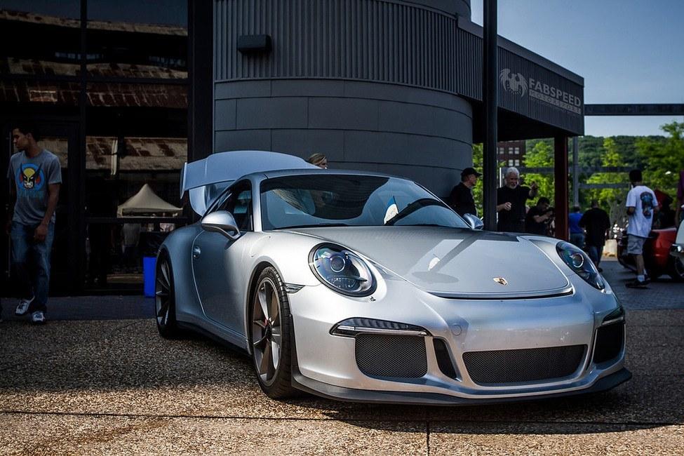 Porsche GT3 front end